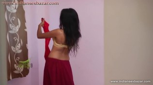 Nude Tuition Teacher Seen By Young Student While in her Dressing Room in bra and panty showing big boobs Full HD Porn and Nude Images_00003