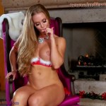 Sexy horny Nicole Aniston with big boobs on Christmas porn Full HD Porn and Nude Images00026