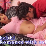 Hot Bhabi Romance with SalesMan Ka Romance fucking as doggy style playing with tits Big Boobs Full HD Porn00001