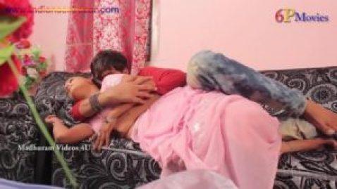 Hot Bhabi Romance with SalesMan Ka Romance fucking as doggy style playing with tits Big Boobs Full HD Porn00023