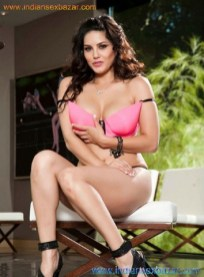 Sunny Leone's Hot Photos in sexy steamy styles in pink lingerie