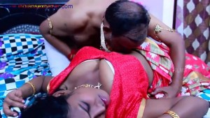 Rajavari Kamasutra Romantic Indian Kamasutra Family fuck Good fucking as doggy style playing with tits Big Boobs Full HD Porn00067