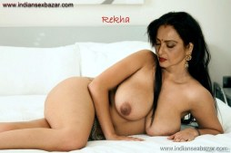 Rekha Nude Photos showing Boobs and Hairy Pussy Images Fucking Open Gand Pics XXX 4