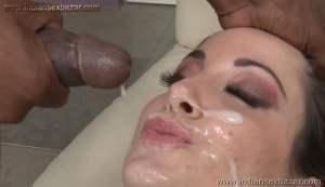 A pornstar gets three large black cocks inside her Pussy Full HD Porn FREE Download XXX00013
