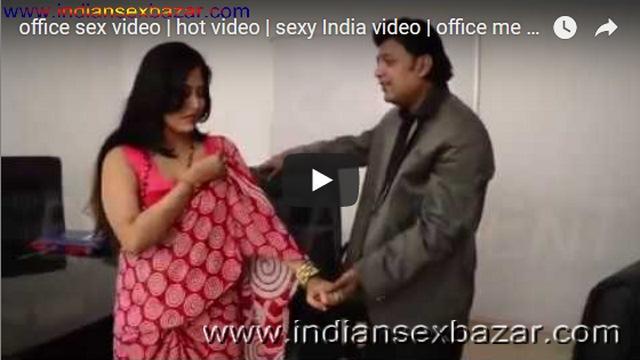 18 CCTV Office girl caught having sex with Boss Sex In Office Indian Sex Bazar