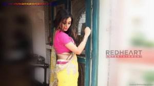 इंडियन रंडी साड़ी ब्लाउज में मोटे मोटे बोबे दीखते हुए Indian Randi In Yellow Saree Xxx (9)