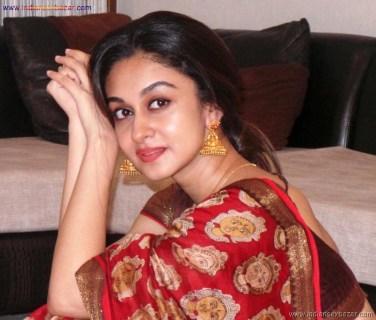 Sexy Indian Bhabhi In Saree Blouse Very Hot And Sexy Striping Saree Photos (12)