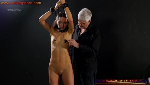 Shy Nude Model Enjoying Painful Breast Torture Full HD Porn Image Gallery (8)