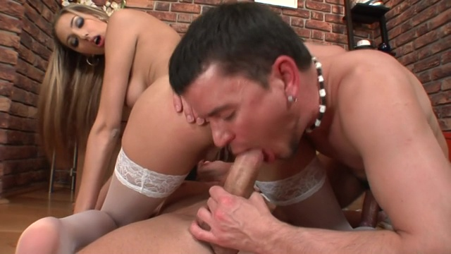 Two Bisexual Gay And Beautiful Girl Enjoying Threesome Sex Full HD Porn XXX Pictures 5