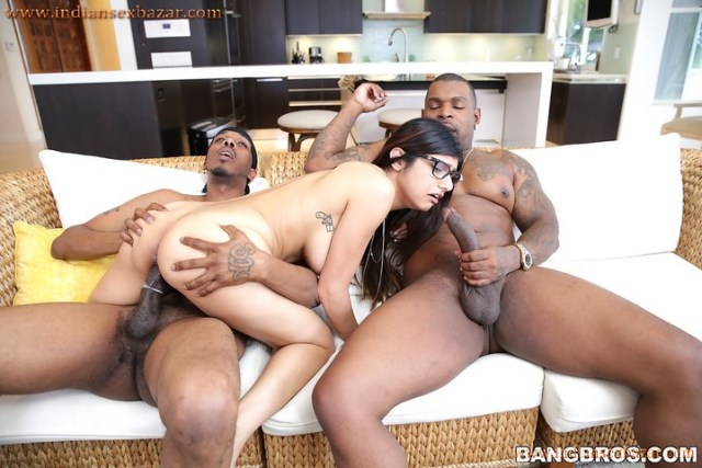 Arab Pornstar Mia Khalifa Fucked By Two Big Black Cock Arabic Full HD Porn Film XXX Movies 2