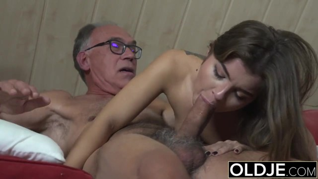 School Girl Giving Blowjob To Old Men