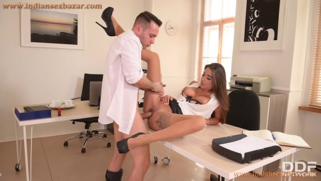 New Sexy Secretary Liya Silver Fucked In Office By Boss Full HD Porn Video And XXX Pictures 15
