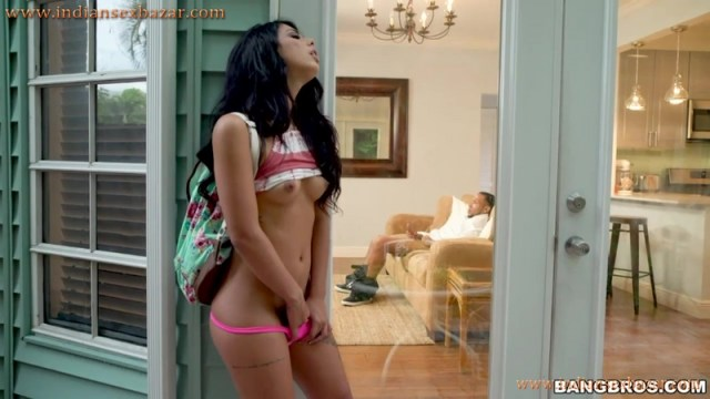 Brother Masturbating Sister Gina Valentina Caught Him Full HD Porn Video And XXX Masturbation Picture Gallery 5