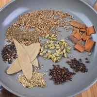 GARAM MASALA Spices in a Pan