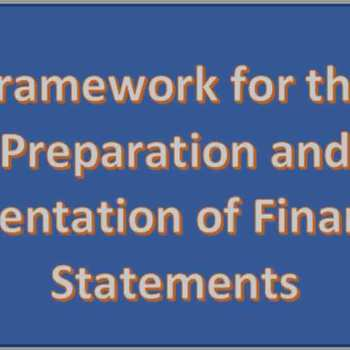 Framework of Preparation and presentation of Financial Statements-min