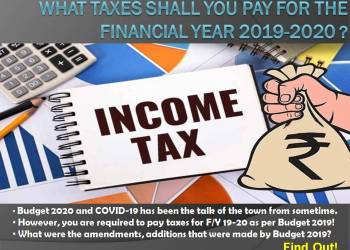 Income Tax Rate for FY 2019-2020