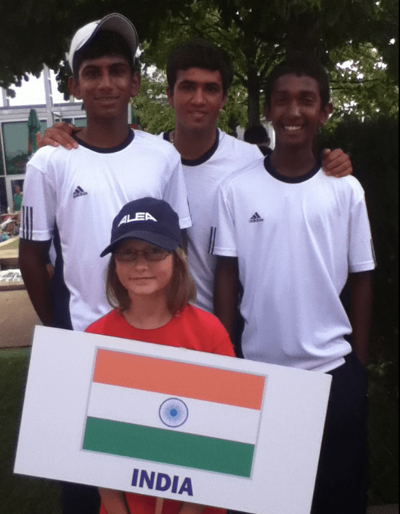 Nitin with Vasisht and Alex in Junior Davis Cup.png