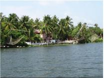Cochin Tourist Attraction Kerala-backwaters