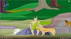 ekalavya_animation_for_children_mahabharat_hindi_13