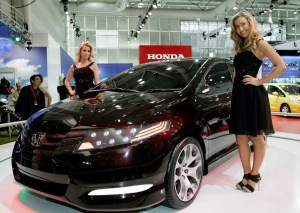 Honda City concept revealed at the 2008 Australian International Motor Show.
