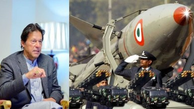 Photo of India's nuclear weapons shakes Pak PM Imran Khan with fear.