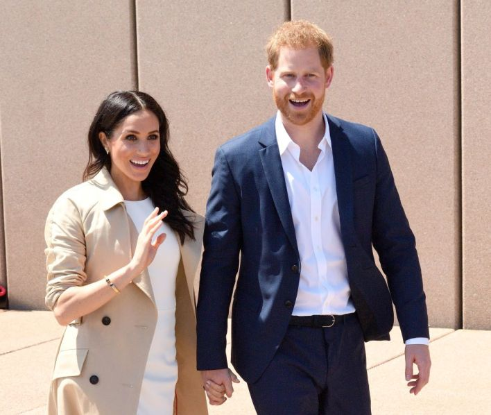 Prince Harry Is So Happy to Be Back in Montecito With Meghan and Archie