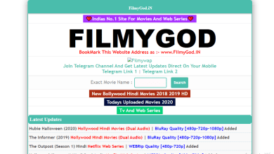 Photo of 9 best alternative sites of Flimygod 2021 to download Bollywood, Hollywood movies
