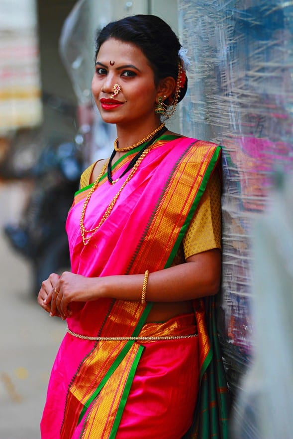saree - Traditional clothing in India