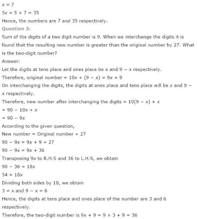 Class 8 NCERT Maths Solutions