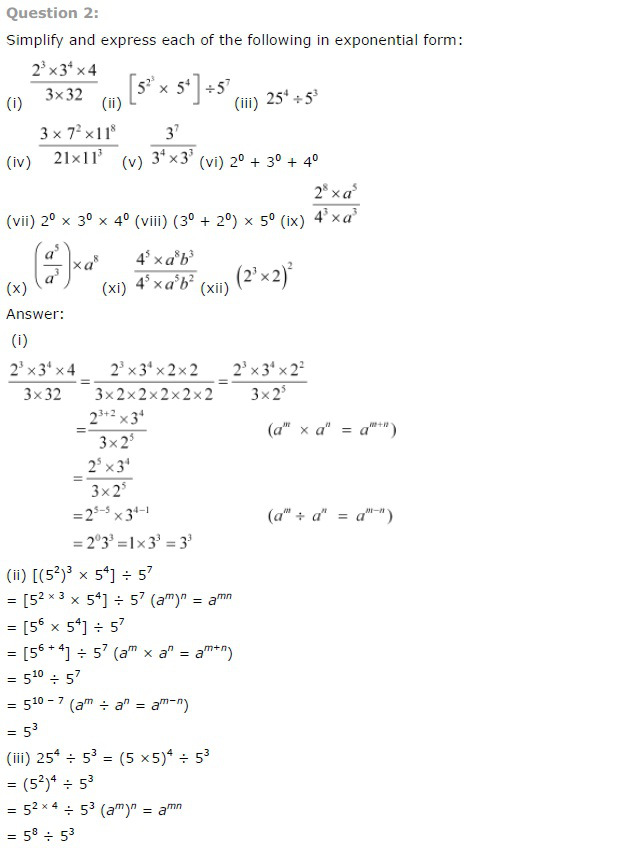 NCERT Solutions For Class 7th Maths Chapter 13 : All Q&A