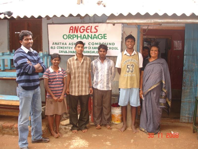 Tuition fee paid for 4 students at GOM Orphanage, Shivaji Nagar, Bangalore