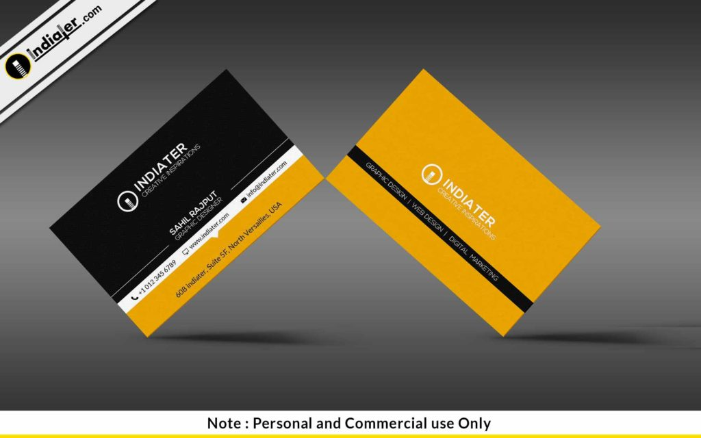 Cool Business Card PSD Templates Indiater