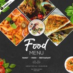 Food Banner Design Template Free Psd Download Indiater