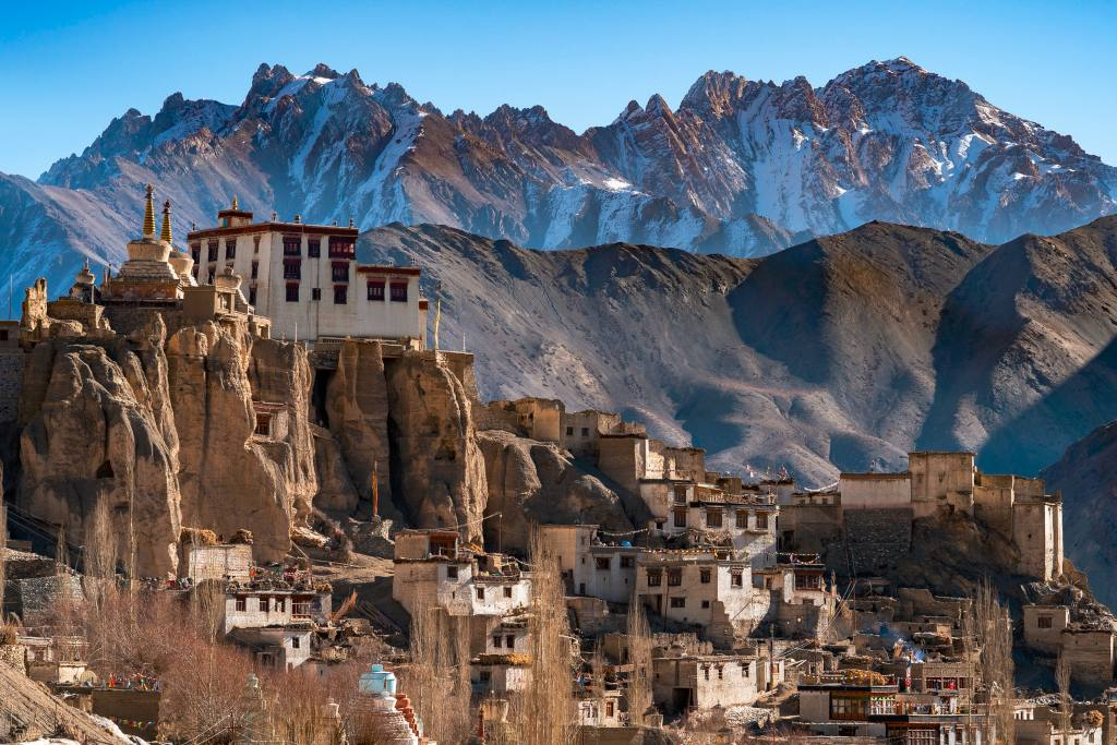The Lamayuru Monastery, Ladakh, India Tourism