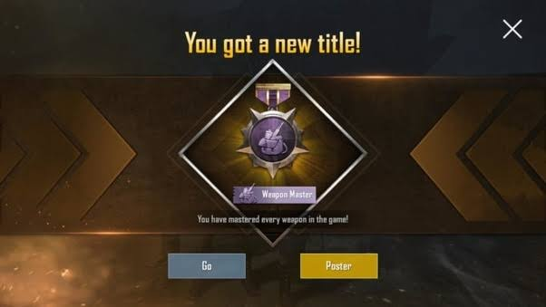 How to get weapon master title easily in pubg,