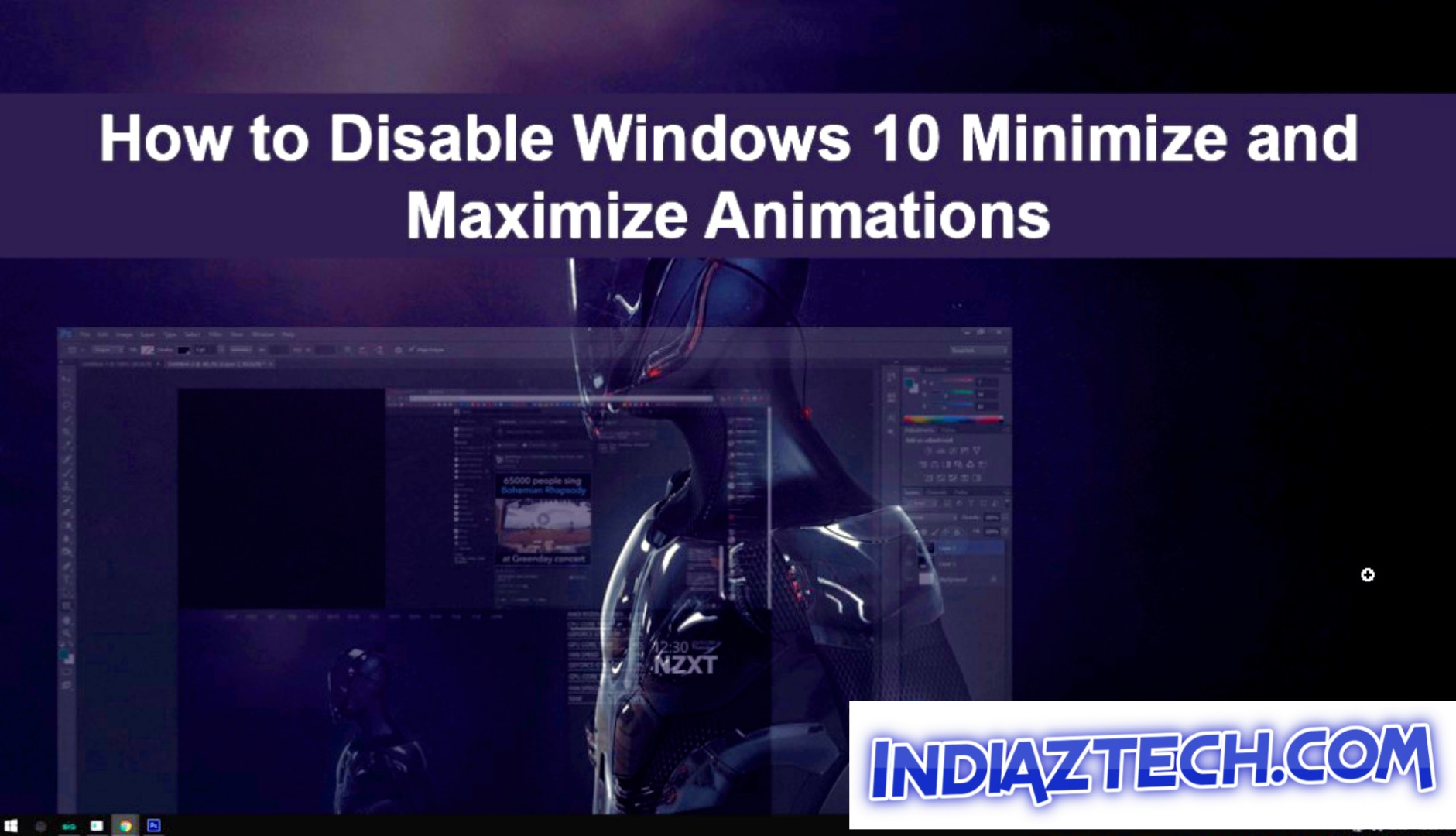 How to Make Windows 10 Animations Smoother ?