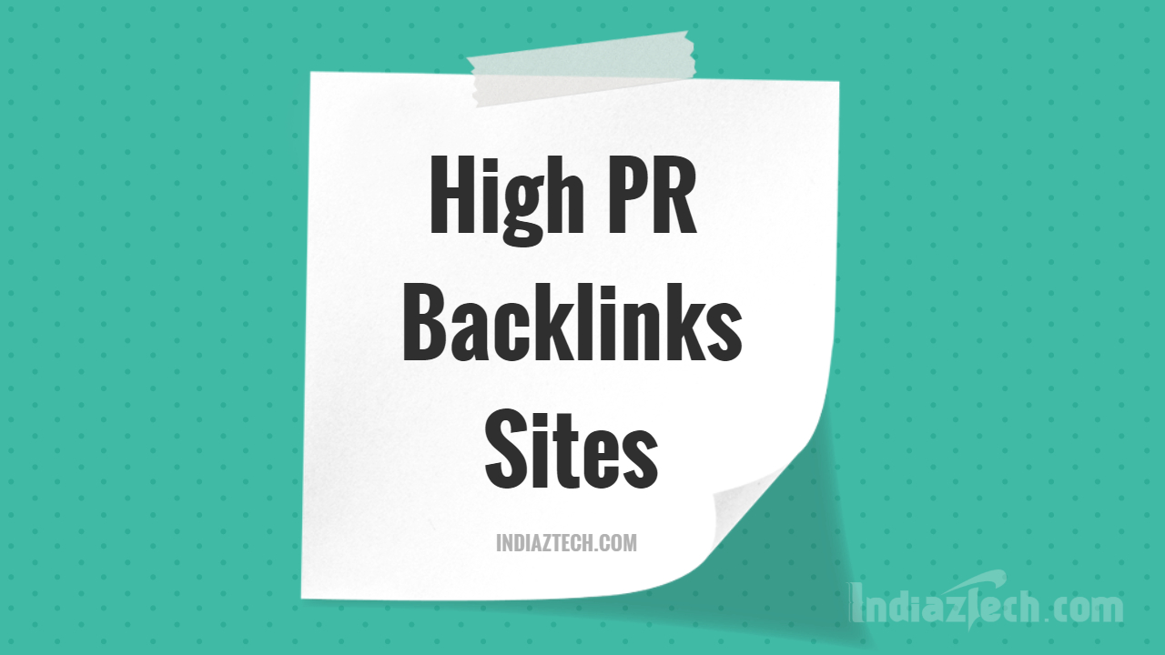 Top High PR Dofollow link directory sites list of 2018, Boost SEO 2020 by High quality backlinks