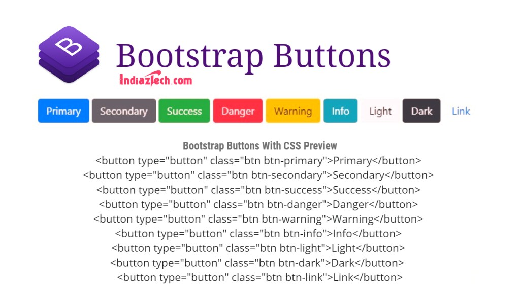 Bootstrap Buttons CSS