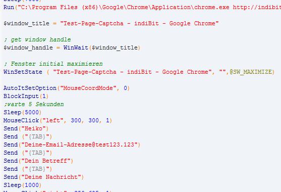 AutoIt Script Webseite automatisierung