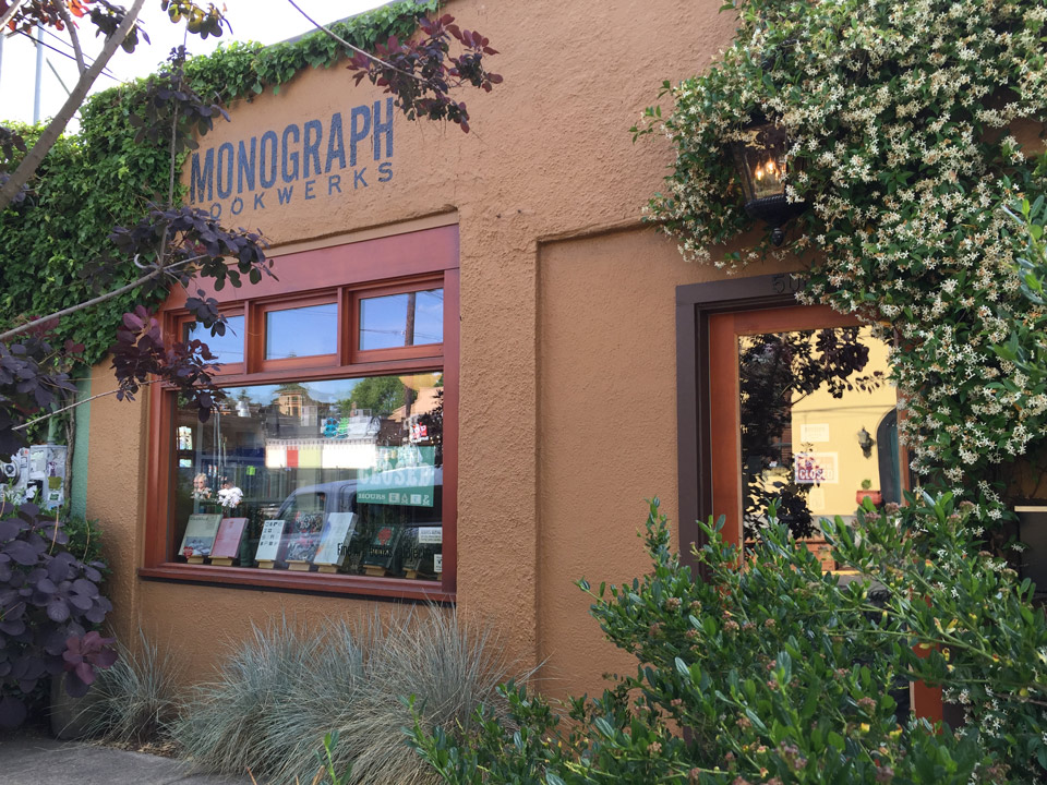Monograph Bookwerks Portland
