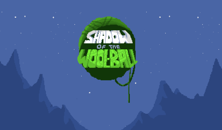 Shadow of the Wall-Ball title screen