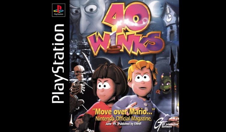40 Winks PS1