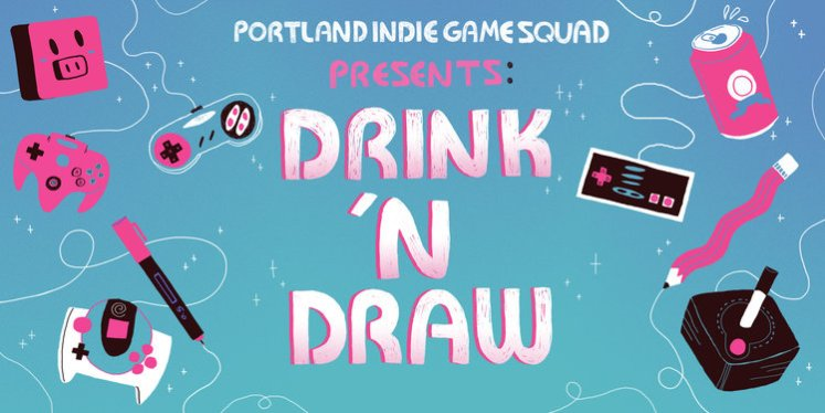 PIGSqaud Drink 'n Draw Event