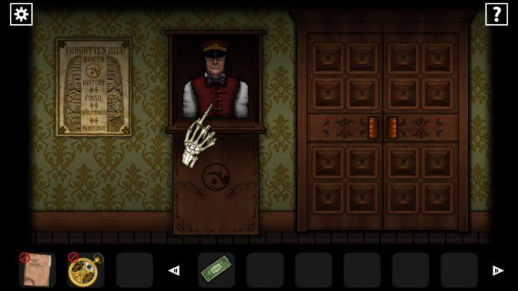 Forgotten Hill Disillusion Screenshot - Museum Entry