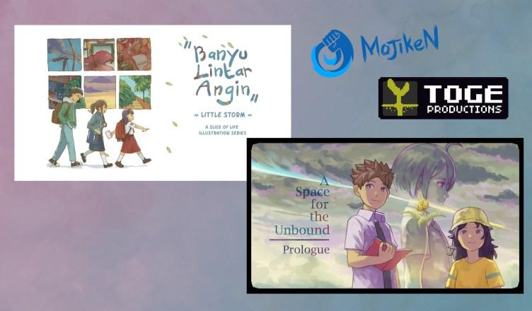 Mojiken & Toge - Games set in Indonesia