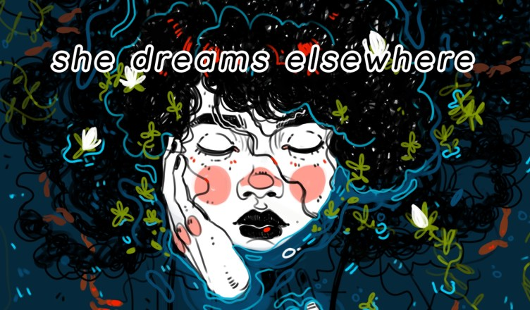 She Dreams Elsewhere - Key Art