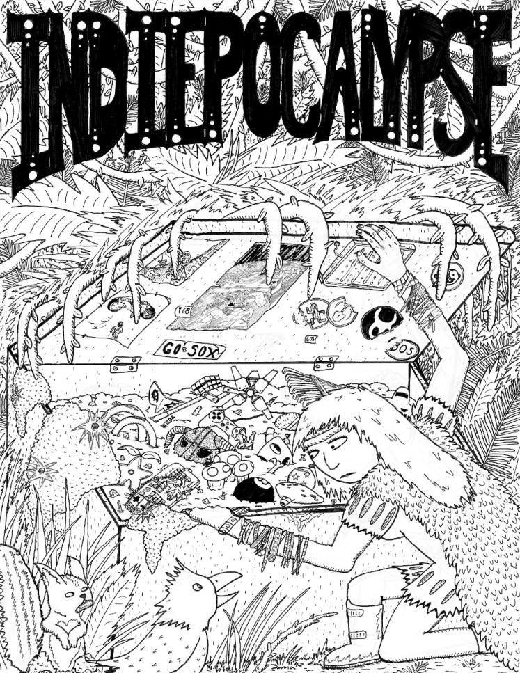 Indiepocalypse #1 Cover Art