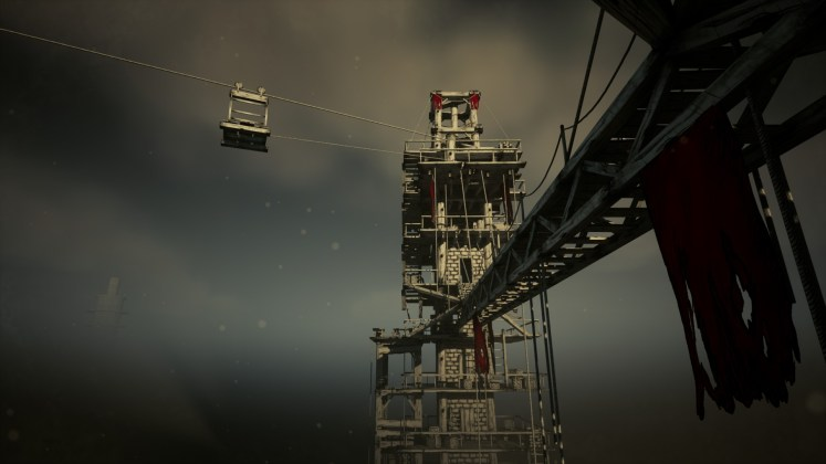 Cloud Climber Screenshot - View from the First Tower