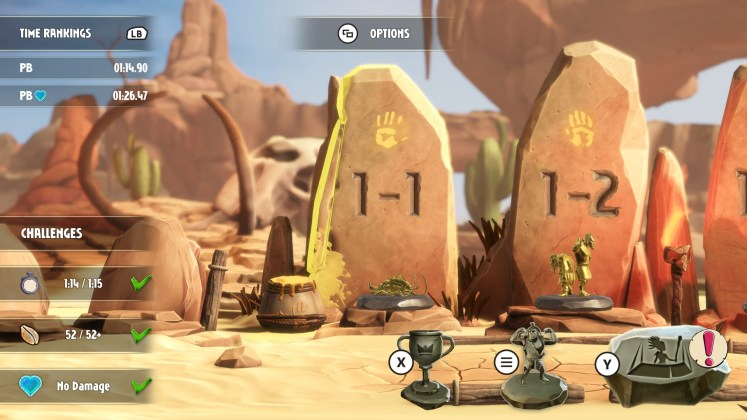 Jet Kave Screenshot - Level Challenges and Replayability