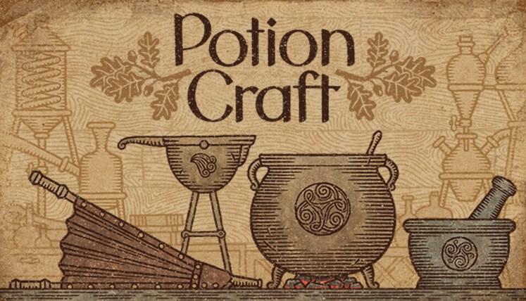 Upcoming Games - Potion Craft -Key Art